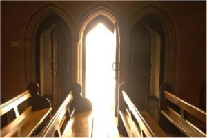 light in the confessional